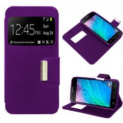 Funda Flip Cover para Samsung Galaxy J1