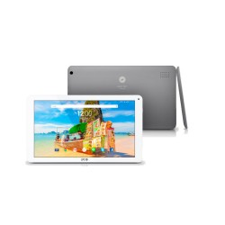 "TABLET SPC GLEE SILVER 10.1"" 16 GB QUAD CORE"
